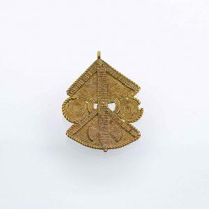 amuleto due soli africano