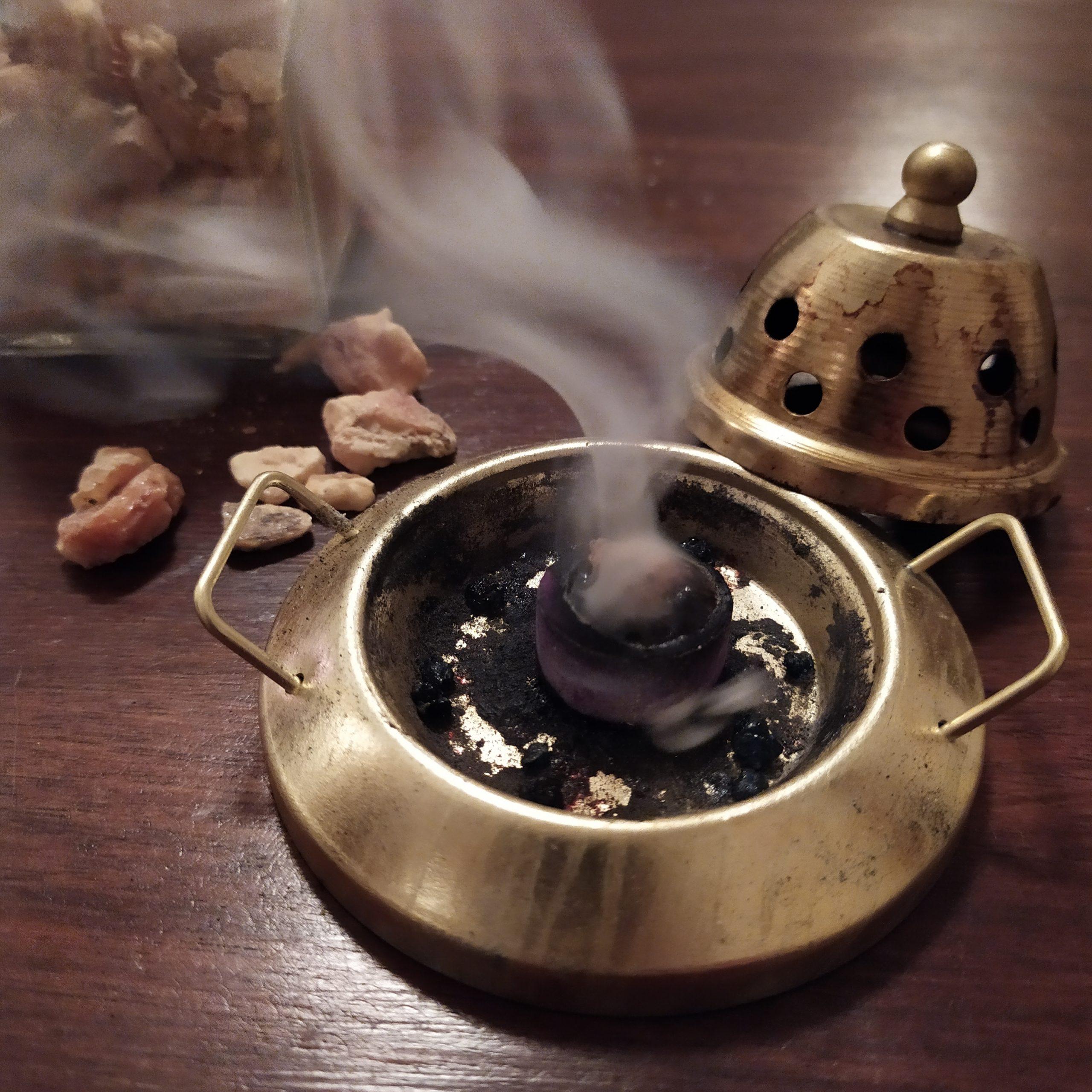piattino brucia incenso